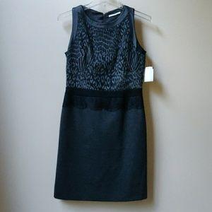 T Tahari Animal Print Sleeveless Dress 4